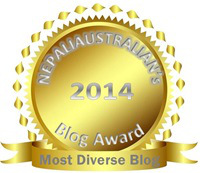 "Nepali Chori was Honored as ""Most Diverse Blog"""
